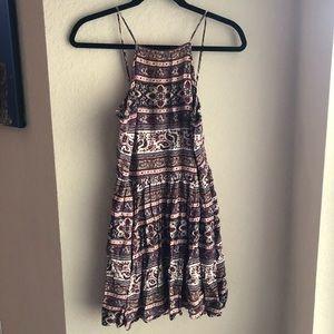 America Eagle Babydoll Pattern Dress